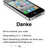 So können die kostenlosen iPhone 4 Bumper und Hüllen bestellt werden