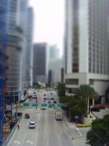 Mit Tilt-Shift Filter
