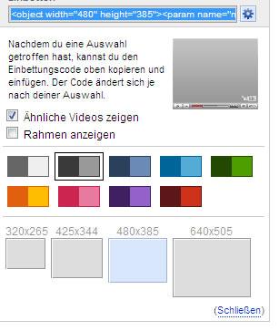 youtube-anpassen
