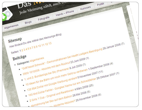 sitemap-wordpress