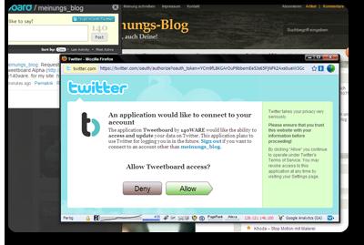 twittern-tweetboard