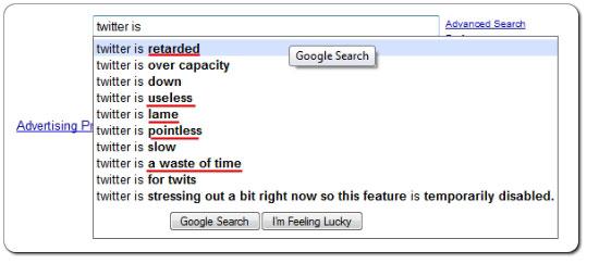 Google Ist Doof