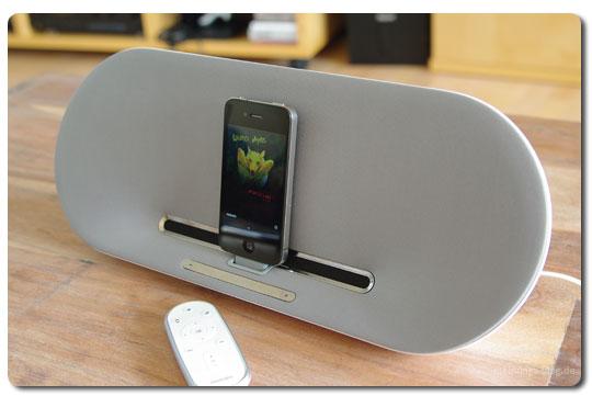 Produkttest: iPhone Dockingstation Philips Fidelio DS8500 | Das ...